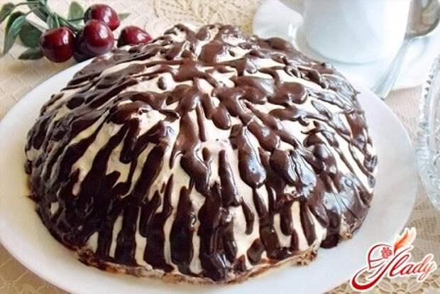 Кондитерская дома: готовим торт «Панчо» с вишней