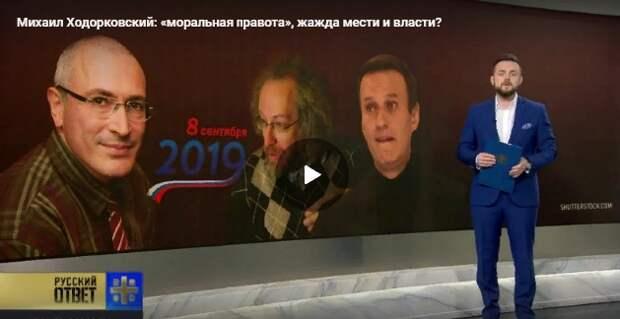 """Атаки, подкуп, тролли: Ходорковский рассказал Европарламенту """"всю правду"""" о влиянии России"""