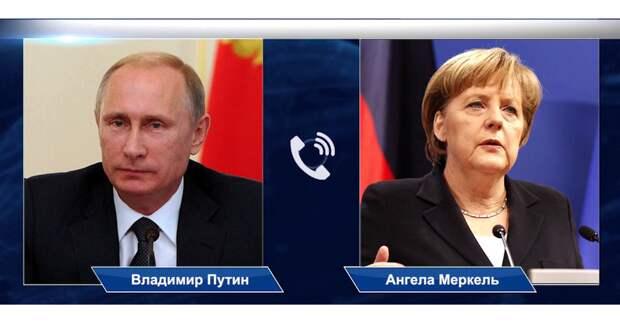 Президент России объяснил Германии дислокацию российских войск близ Украины