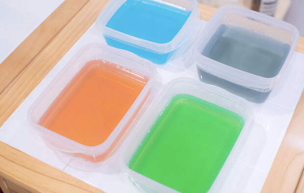 Готовим японский радужный прозрачный торт Агар-агар