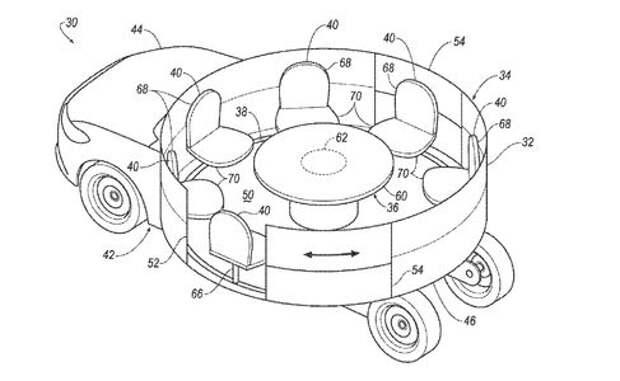 Кто успел, тот и сел: Ford запатентовал автомобиль-карусель
