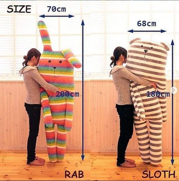 Креативные мягкие игрушки-подушки (выкройки)