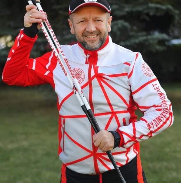 Житель Удмуртии установил новый рекорд России по скандинавской ходьбе