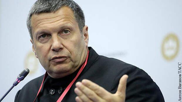 Соловьев проанализировал «крайне жесткое» заявление Путина 9 Мая