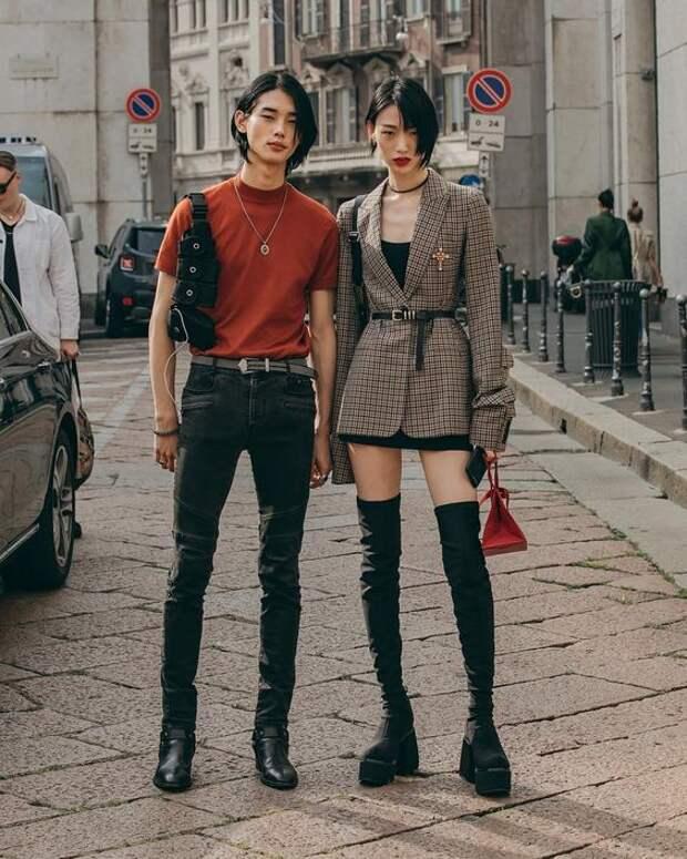 Street Style подборка с азиатским уклоном (трафик)