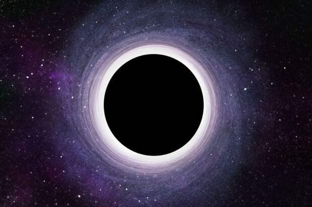 Как появляются чёрные дыры в космосе? Что находится внутри неё?
