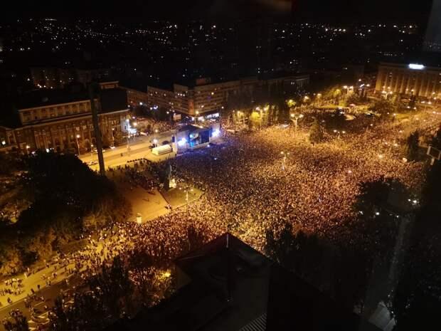 Концерт Лепса в Донецке