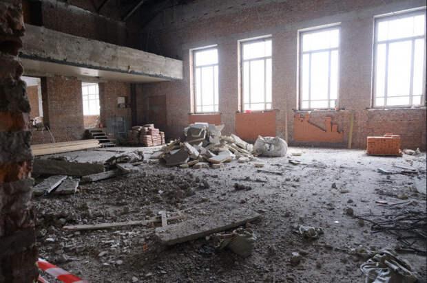 Ремонт большого зала Новосибирской консерватории завершится в этом году