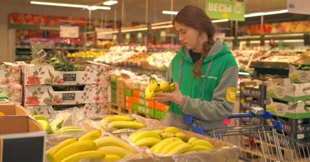 Онлайн-покупатели подсели на свежие продукты