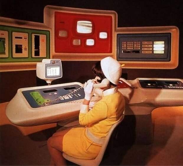 Офис будущего. Всемирная выставка в Нью-Йорке, 1964 год.