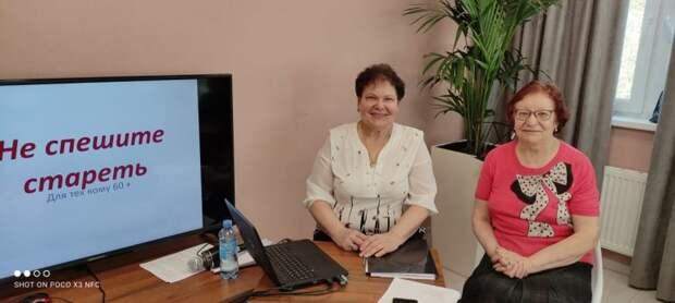 Пенсионерка из Некрасовки собрала клуб единомышленников