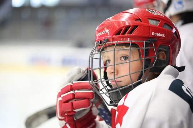 В клубе «Вымпел» на Беломорской стартовал набор юных хоккеистов