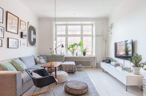 Правильное сочетание цветов в интерьере гостиной: полезные советы (85 фото)