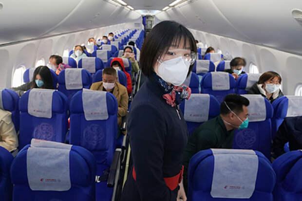 В Китае произошла вспышка коронавируса, которую связываю с авиарейсом из России
