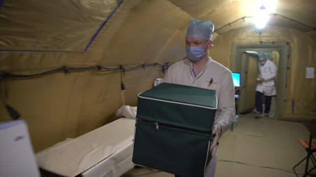 Провакцинировать зрителей парада Победы вРостове помогут военные медики
