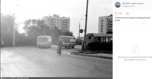 Фото дня: ретро-автобусы на Авиационной улице