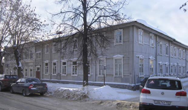 Власти Уфы объявили о расселении жильцов из двух старинных особняков
