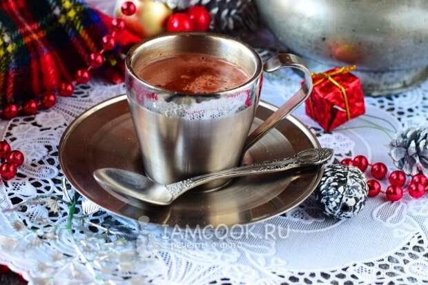 Рецепт горячего шоколада из какао-порошка