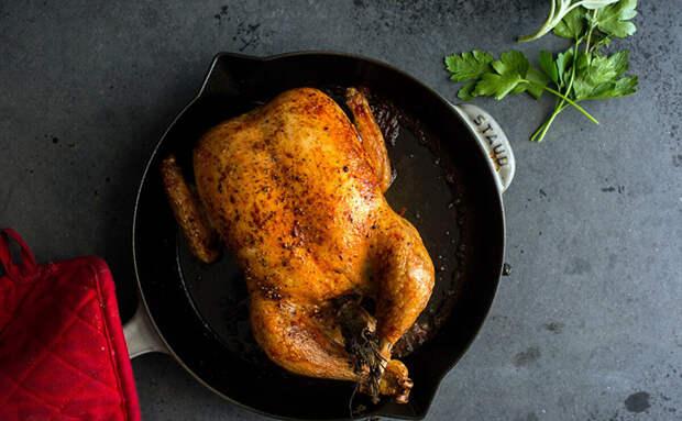 Запекаем курицу при 100 градусах: оставляем внутри весь сок по методу повара Блюменталя