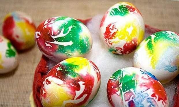 Самые необычные и оригинальные способы покраски яиц в Пасхе