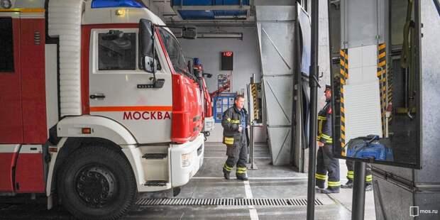 Возгорание в Новосёлках потушили пожарные