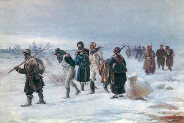 Как русская водка сгубила армию Наполеона