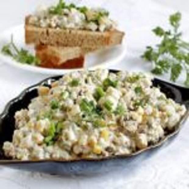 Шпротный салат – намазка