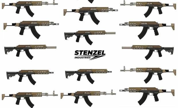 Очумелые ручки в деле: американцы опять решили скрестить AR-15 и Ак.