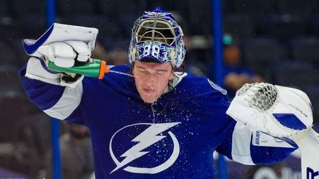 Василевский: «Надеюсь, что смогу поднять свою игру на более высокий уровень в плей-офф НХЛ»