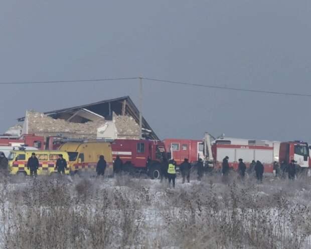 МВД Казахстана назвало новую версию крушения самолёта в Алма-Ате