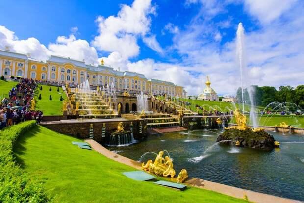 Петергоф устроит Весенний праздник фонтанов 22 мая