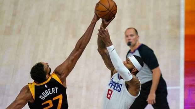 «Юта» принимают «Клипперс» во втором матче серии 1/4 финала плей-офф НБА