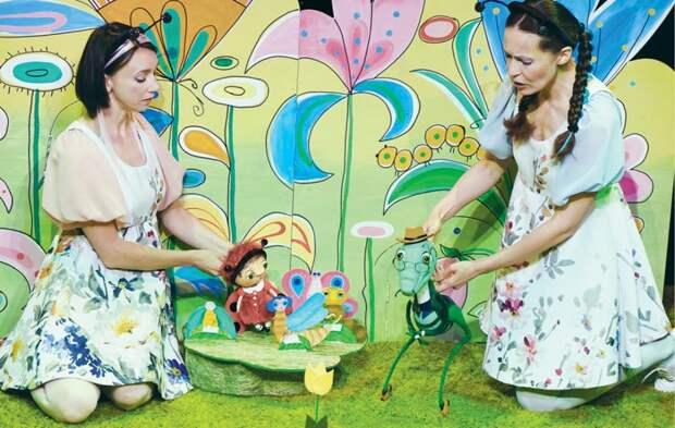 В Крымском академическом театре кукол состоялась премьера для зрителей с двух лет
