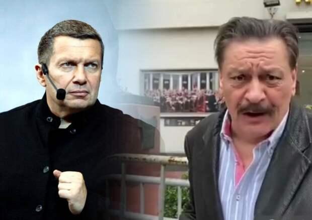 Соловьев жёстко прошелся по критикующему парад Победы актеру Назарову