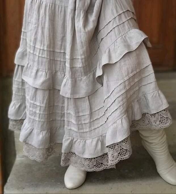 Шикарные изделия изо льна в стиле Бохо от талантливого мастера Анны Крапивиной