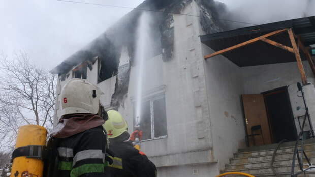 В Харькове объявят траур из-за пожара в доме престарелых