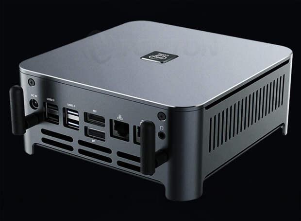 Неттоп TOPTON комплектуется восьмиядерным процессором Intel с частотой до 5,3 ГГц