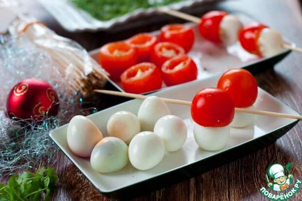 Три быстрые закуски из яиц