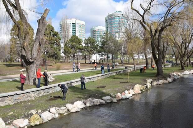 Аксенов реконструирует возмутивший Варламова парк в Симферополе