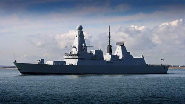 Британцы высмеяли несуразное оправдание Лондона о выдворении эсминца Dragon в Черном море