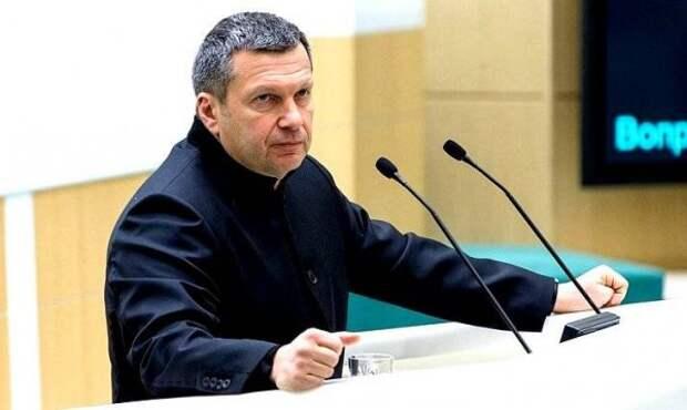 Владимир Соловьёв и его разгромная речь в Совете Федерации (ВИДЕО)