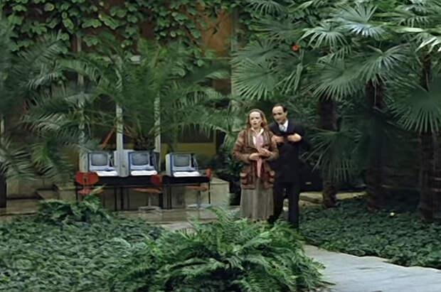 Оранжерея Ботанического сада.