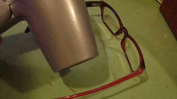 3. Подогнать новые очки под свои параметры Лайфхак, идеи, использование, фен