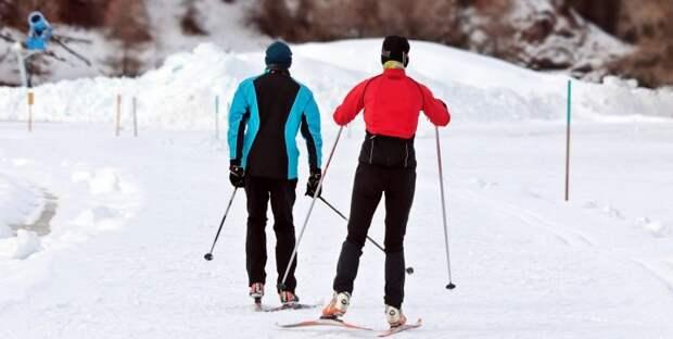 В Молжаниновском прошли окружные соревнования по лыжным гонкам
