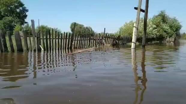 Киргизское село оказалось под угрозой затопления после прорыва дамбы