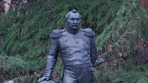 В Бразилии установили памятник путешественнику Беллинсгаузену