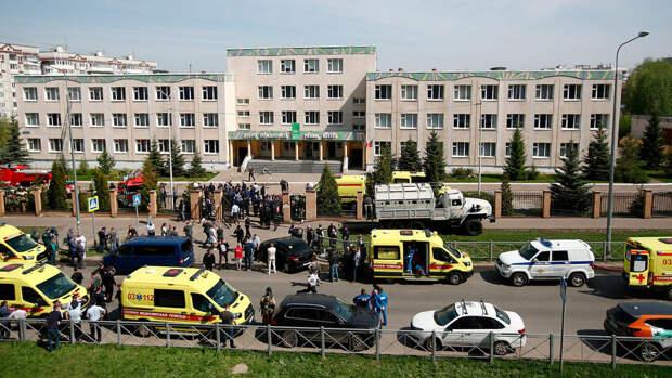 Минздрав: в больницы доставлен 21 человек после стрельбы в Казани