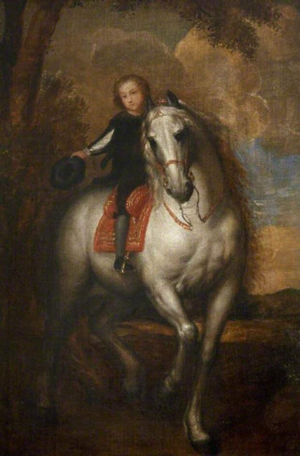 Джеффри Хадсон - придворный карлик королевы Генриетты Марии
