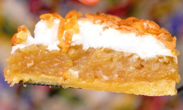 Яблочный пирог Облака: печем вместо Шарлотки
