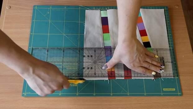 Лучшая утилизация остатков ткани — шикарная лоскутная вещица